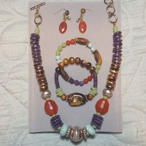 Jewelry - 🎈3 for $15 Multi-colored Bead Set